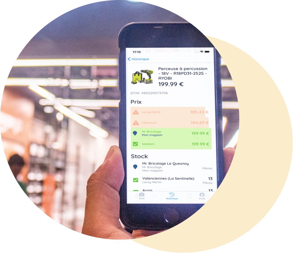 app Retail Shake