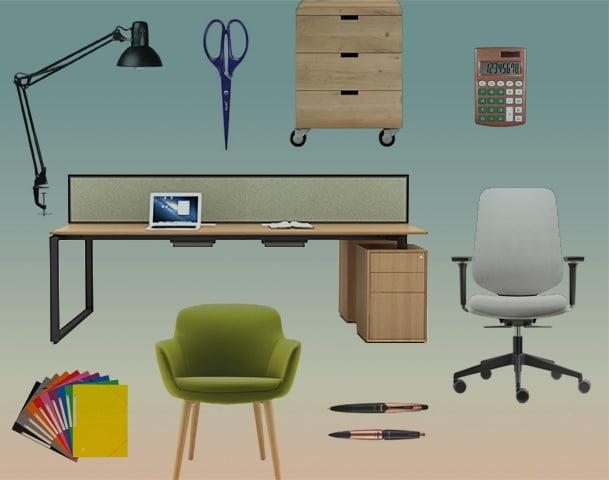 Werkzeuge und Zubehör für Möbel und Dekoration